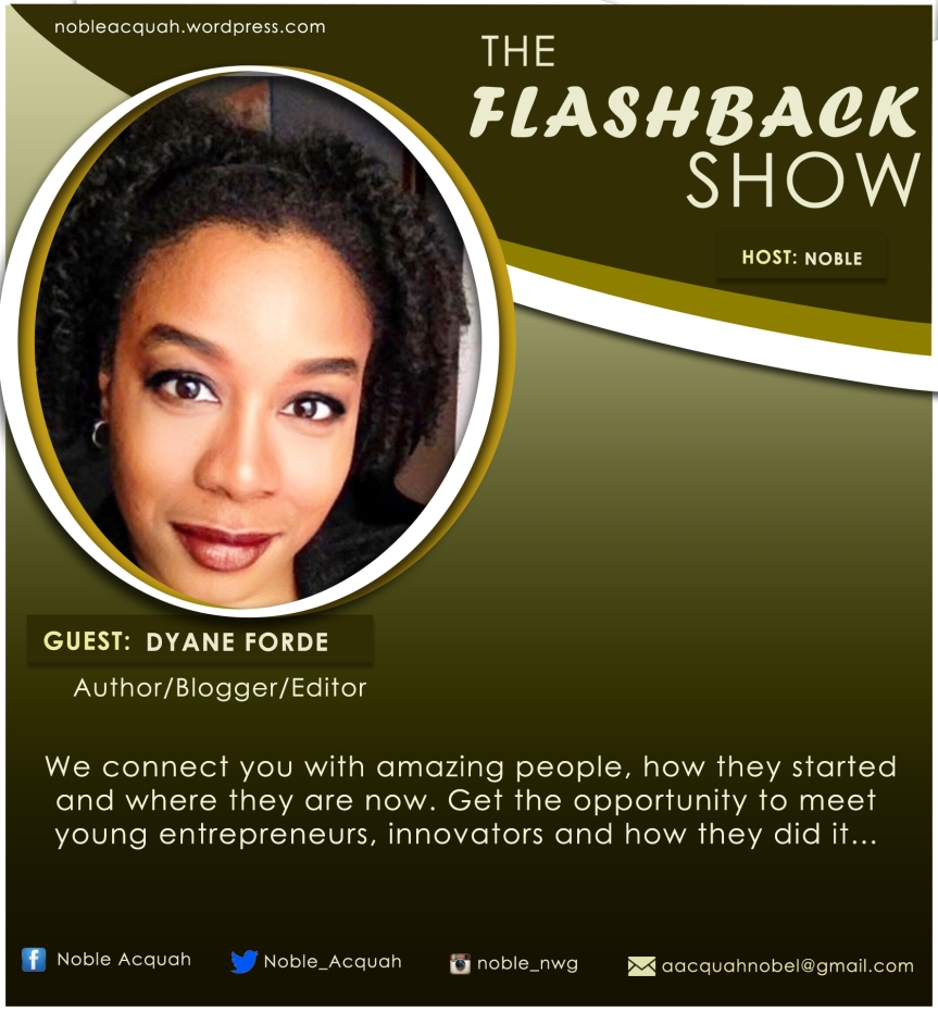 Dyane Forde on The Flashback Show