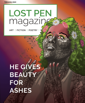 Issue 2 Lost Pen Magazine Cover